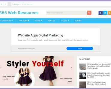 Screenshot.rocks 365webresources