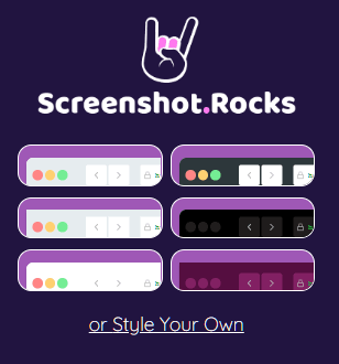 Screenshot.rocks Browser Style