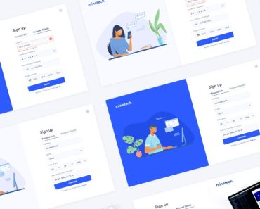 Sign Up Onboarding UI Kit