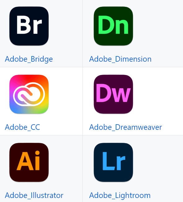 macOS Big Sur Replacements Icons