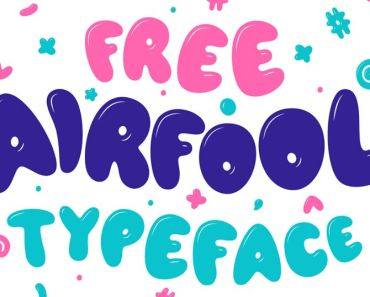 AIRFOOL Free Typeface (Free For Commerical)