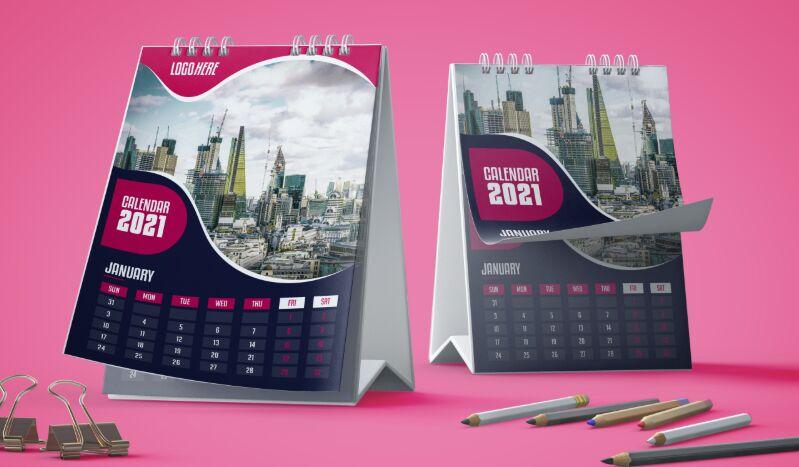 2021 Calendar Template Design