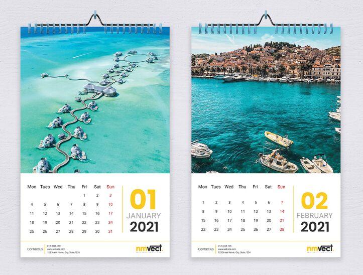 20+ Free Printable Calendar Templates For Designers ...