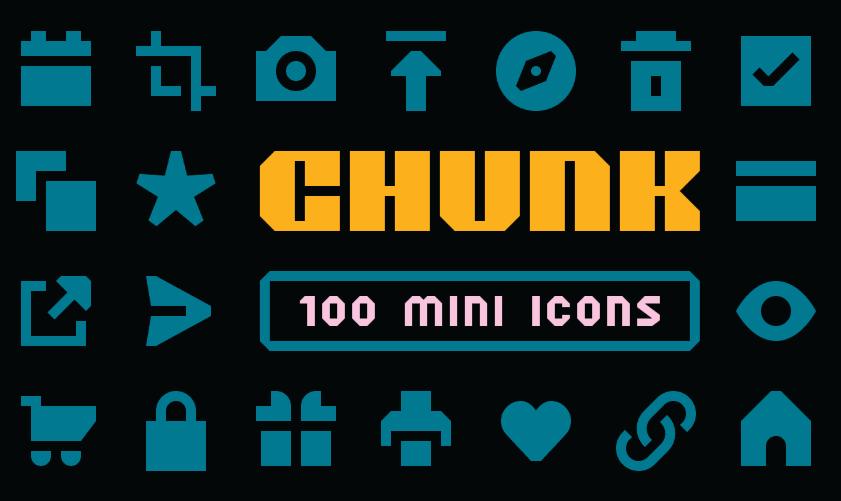 CHUNK Mini Icons Figma