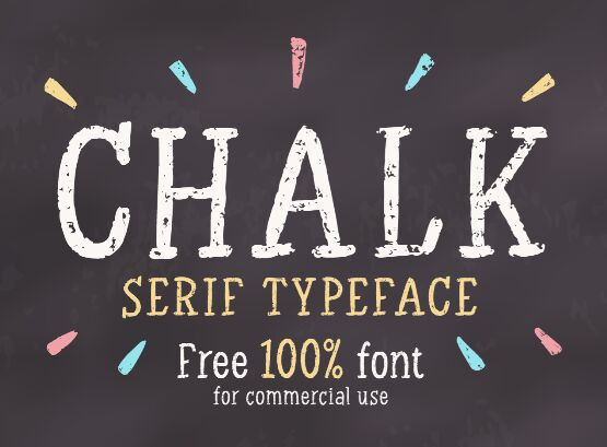 Chalk Serif 100% Free Font