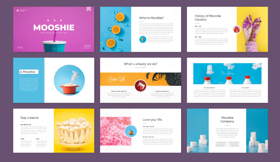 Creative Business Presentation Template Preview