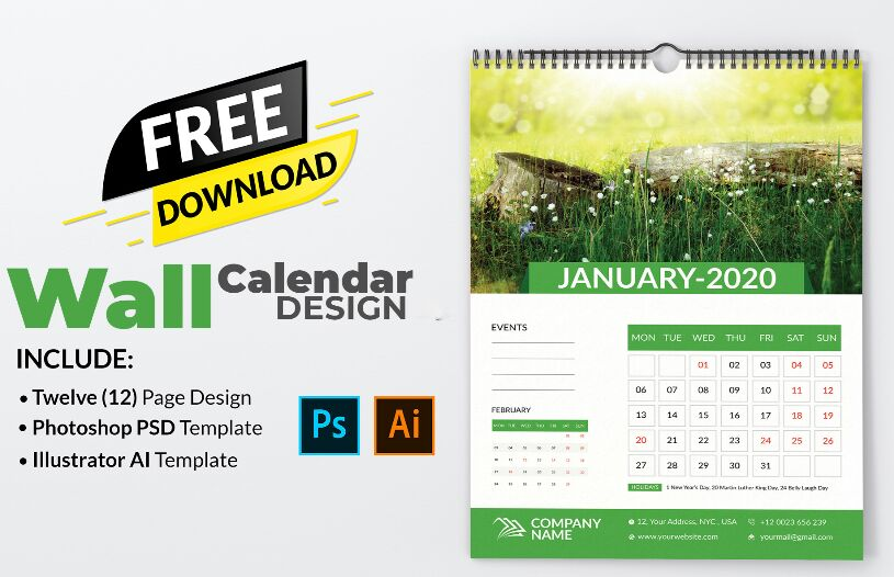Free Calendar Design Download