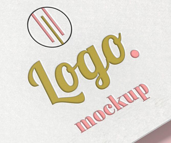 Free Logo Mockup