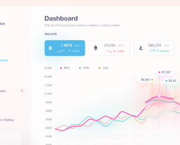Light Crypto Dashboard