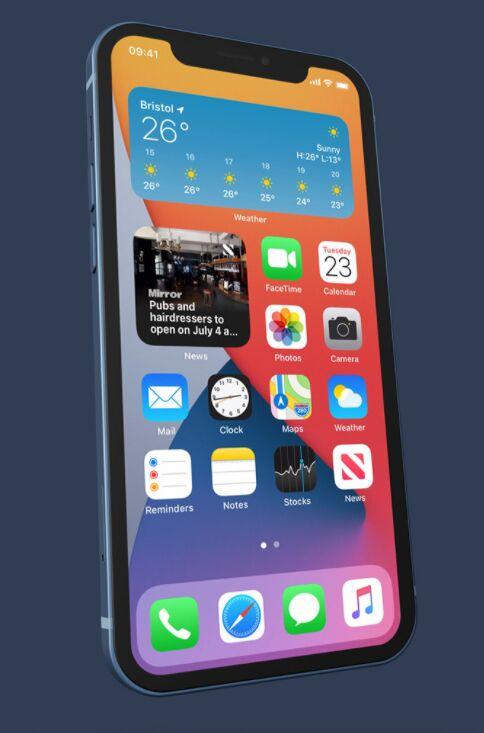 iPhone 12 Mockup (5 COLORS, 3 SCENES)