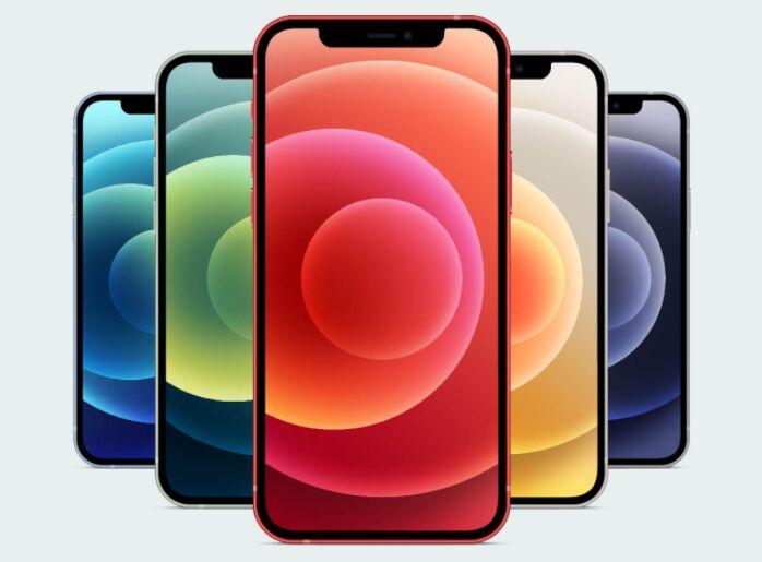 iPhone 12, iPhone 12 Pro & Max Ai & Mockup PSD Set