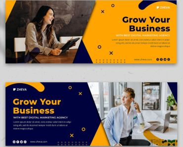 Free Facebook Banner Template To Grow Your Business