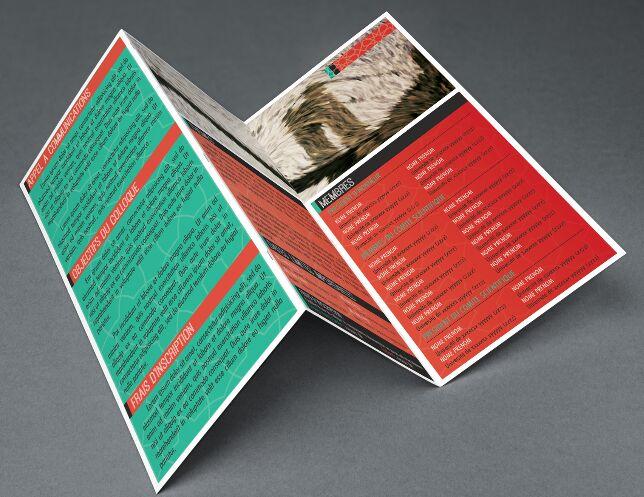 Free PSD Modern Tri Fold Brochure [PSD Flyer]