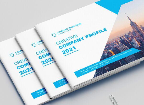 Landscape Brochure Company Profile Template