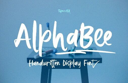 AlphaBee Free Display Font