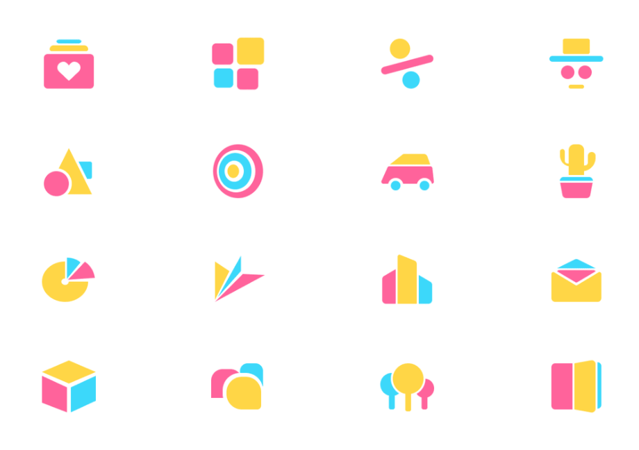 Free Abstract Geometric Icons