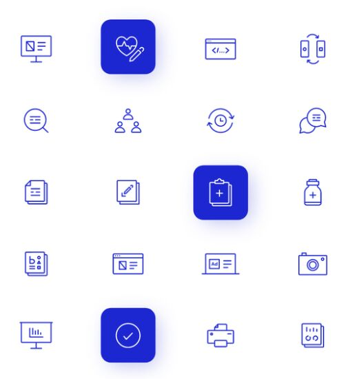 20 Beautiful Medical Icons Vector