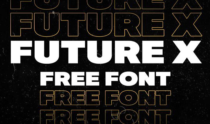 Future X Free Font