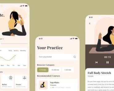 Yoga App Concept