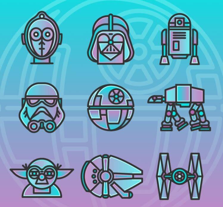 10 Star Wars Icons