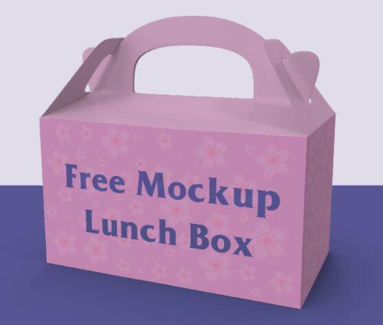 Lanch box Vector Mockup