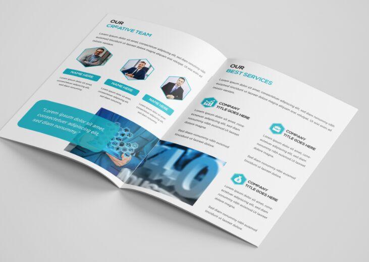 Company Profile & Company Brochure Design