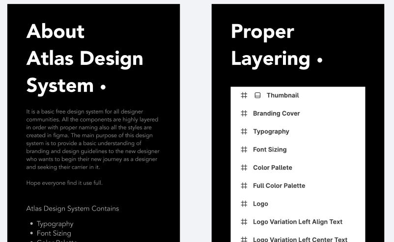 Atlas Design System Figma