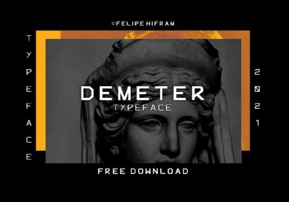 Demeter Typeface