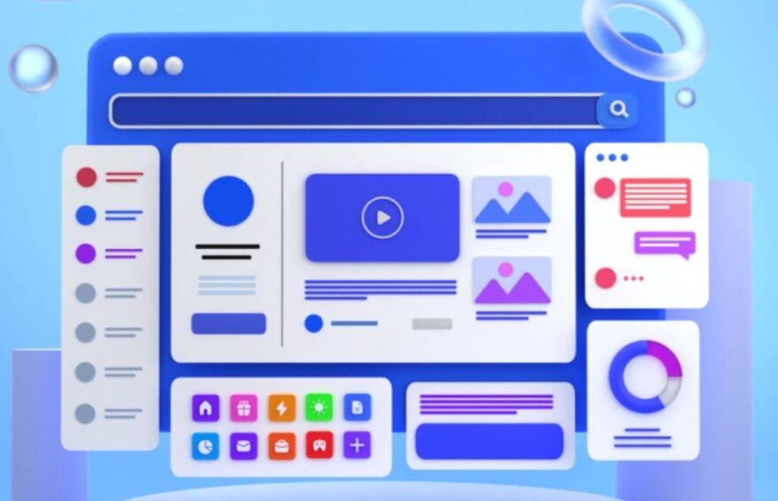 3D Mac Illustration Kit in Figma app