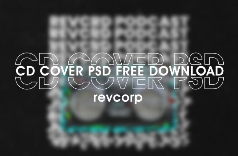 Free CD Album Cover PSD