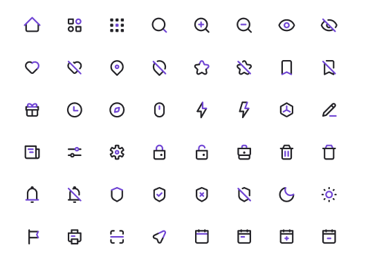 1500+ UI Icons In 5 Styles Color