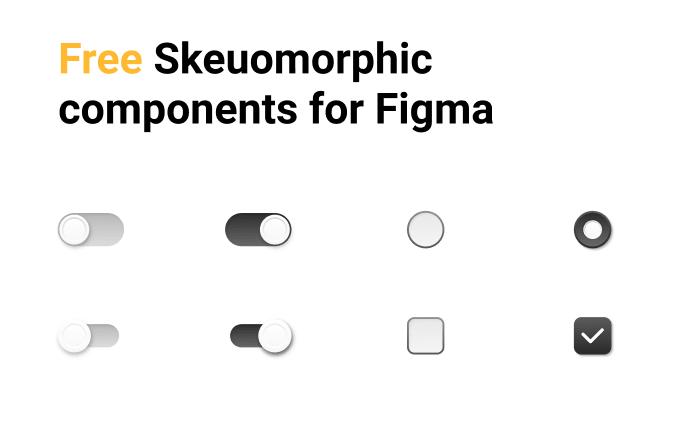 Free Skeuomorphic Components