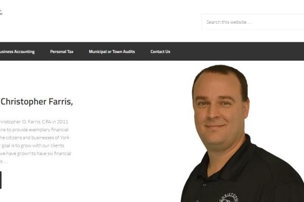 Christopher O. Farris, CPA Portfolio