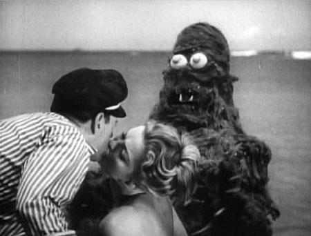 Still from Creature from the Haunted Sea (1961)