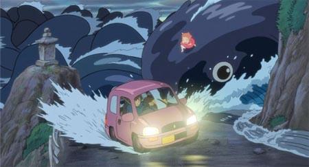 Still from Ponyo (Gake no ue no Ponyo) (2008)