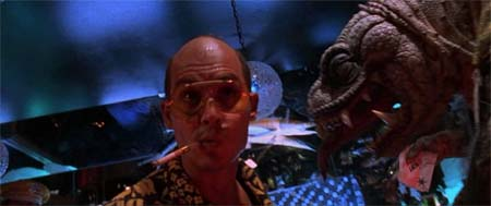 Still from Fear and Loathing in Las Vegas (1998)
