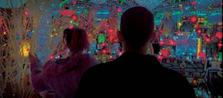 Still from Enter the Void