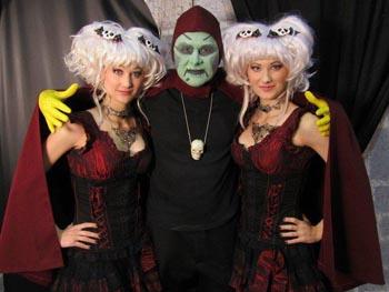 Creeporia Twins and Sammy Terry