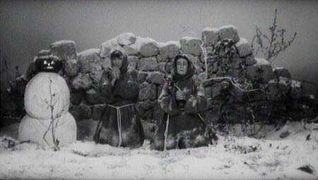 Still from The Hawks and the Sparrows