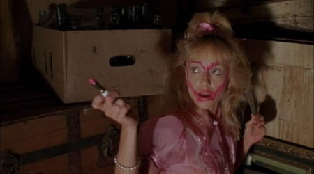Still from Night of the Demons (1988)