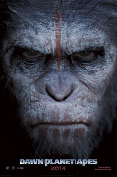 Dawn of the Planet of the Apes (2014) poster