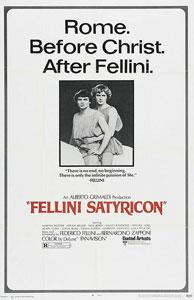 Fellini Satyricon Poster