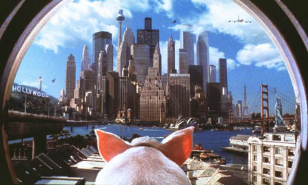 Still from Babe: Pig in the City (1998)