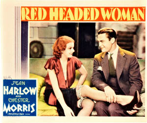 Poster for Red Headed Woman (1932)