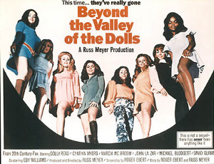 Still from Beyond the Valley of the Dolls (1970)