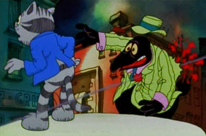 Still from Fritz the Cat (1972)