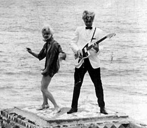 Still from Wild Guitar (1962)