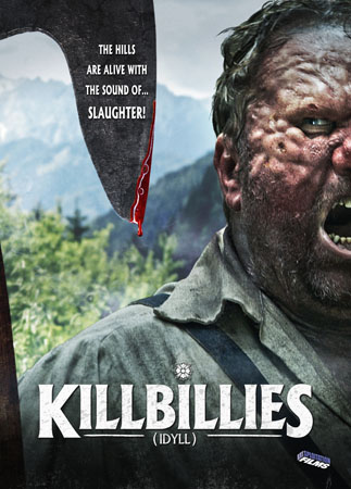 Killbillies (2015) DVD cover
