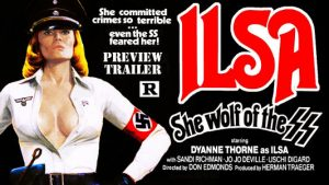 Poster for Ilsa She Wolf of the SS (1975)
