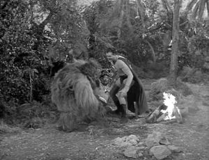 "Still from ""Jungle Devil"" from ""The Advebtures of Superman"""